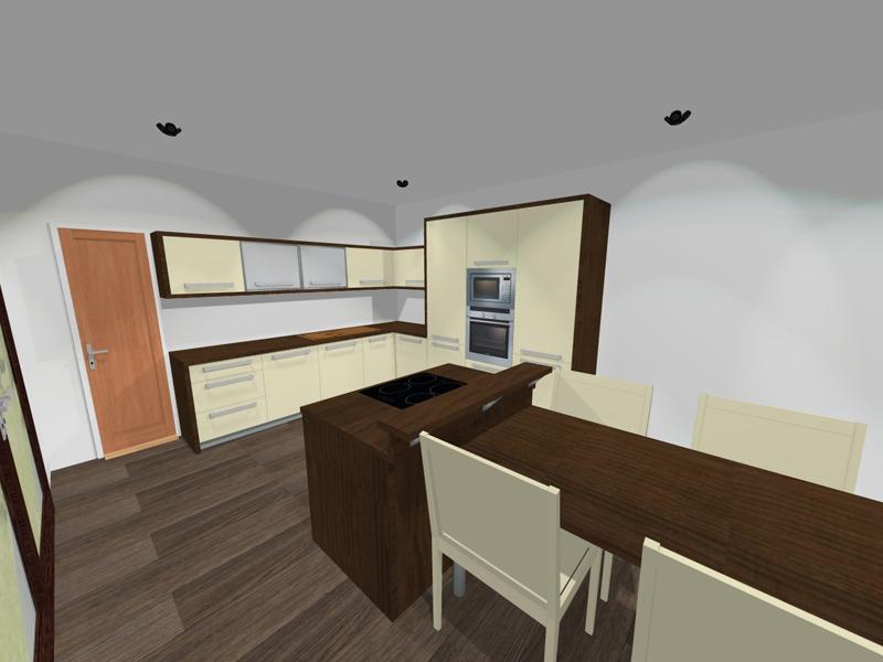 Vestavěná kuchyň 3