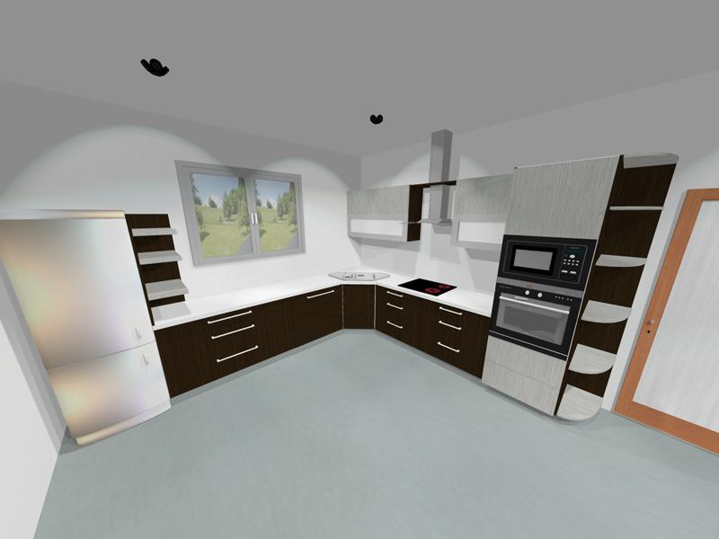 Vestavěná kuchyň 4