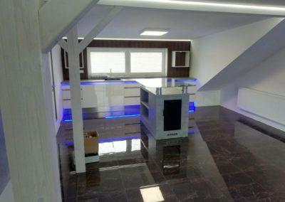 Kancelář s LED osvětlením – Bzenec