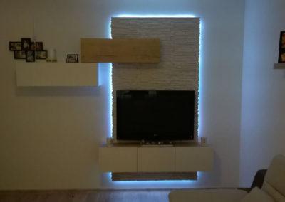 TV stěna – Mikulčice